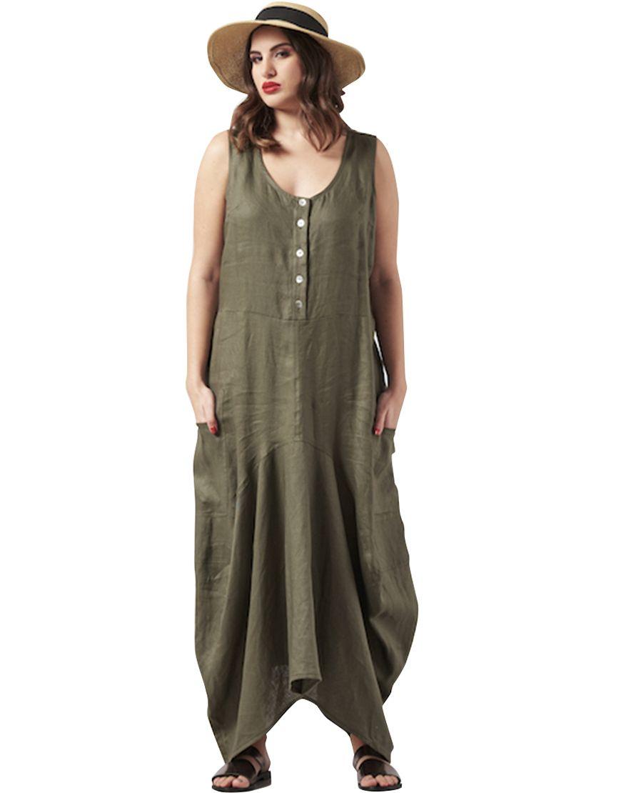 003c31a2c5e7 Boho λινό φόρεμα μάξι - Μάξι Φορέματα - Φορέματα - ΕΝΔΥΜΑΤΑ ...