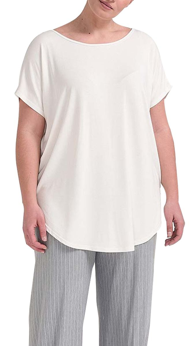 f6c451d14490 Basic Top με Cut Out στην Πλάτη - Basic Tops - Blouses and T-shirts ...