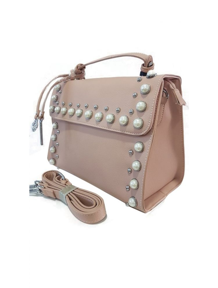 Τσάντα Pearl liner-Απαλό Ροζ