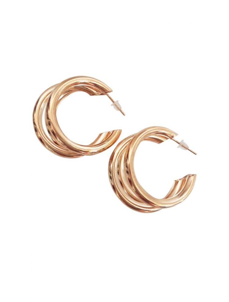 Σκουλαρίκια μικρά στρογγυλά