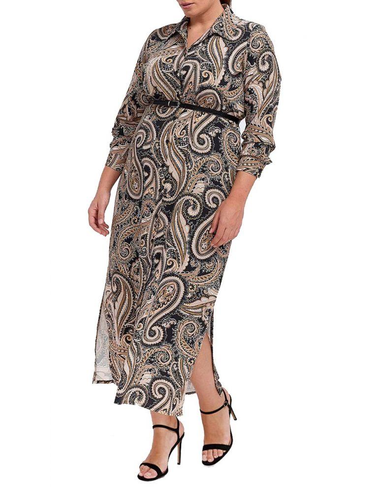 Maxi Φόρεμα με Λαχούρια