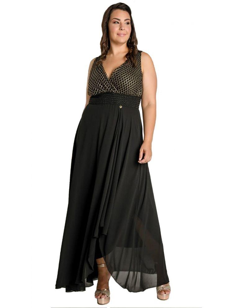 Ασύμμετρο φόρεμα Arlette