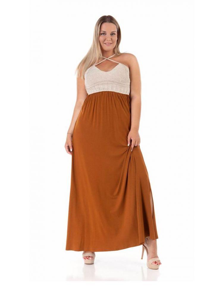 Μάξι φόρεμα Amely