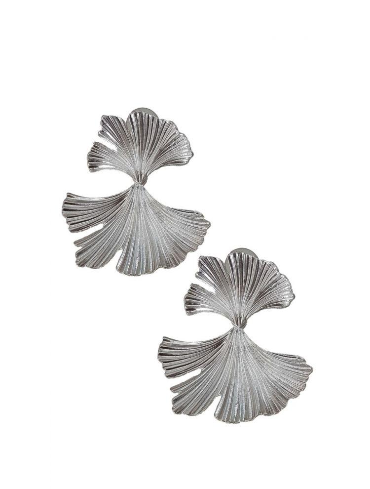 Σκουλαρίκια Ezia-Ασημί