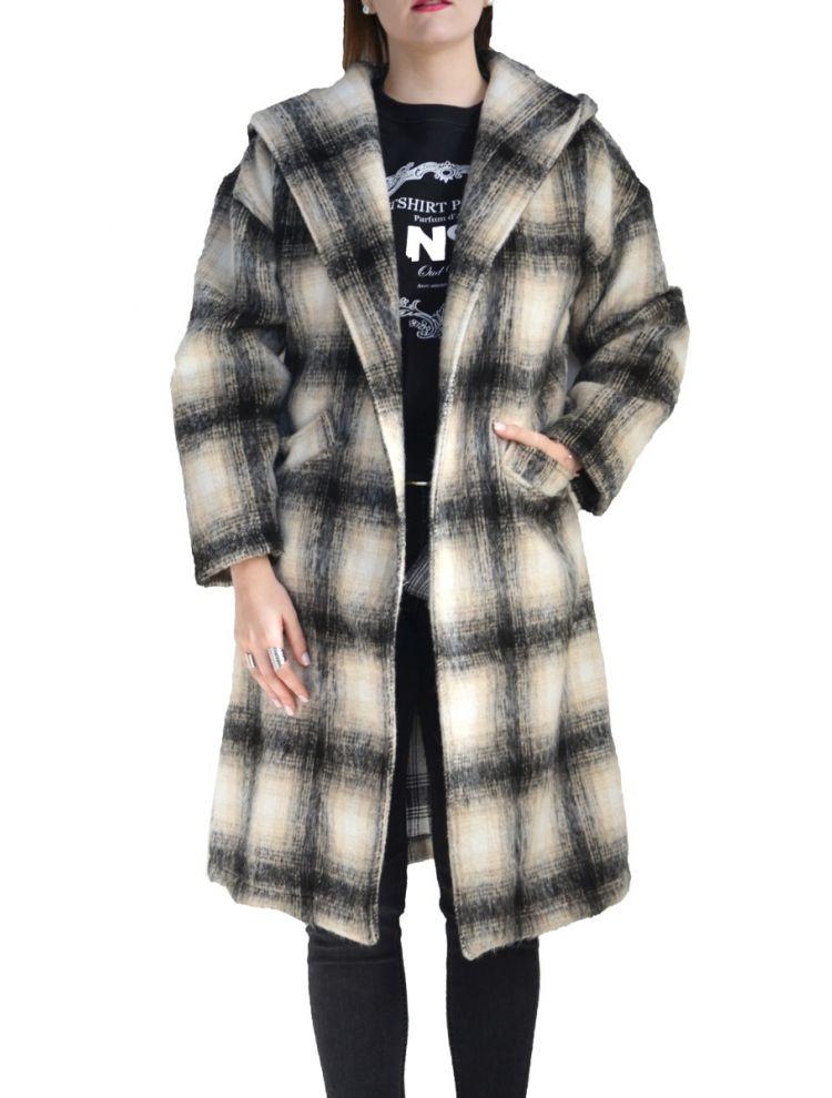 Καρό παλτό Hilda