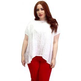Λινό t-shirt