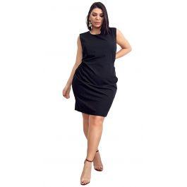 Elegant Midi Φόρεμα  Bodycon ελαστικό με φερμουάρ