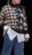 Πλεκτή μπλούζα ζιβάγκο ΖΑΚΑΡ