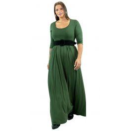 Maxi Μονόχρωμο Φόρεμα