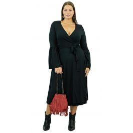 Midi Cruise Μονόχρωμο Φόρεμα