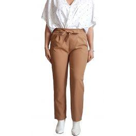 Γυναικείο ψηλόμεσο  παντελόνι με ζώνη και τσέπες