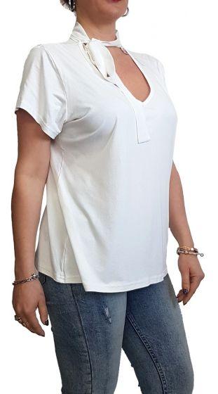 Μπλούζα με Δέσιμο στον Λαιμό