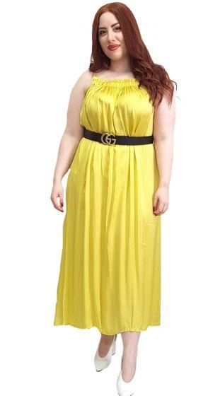 Satine Maxi Φόρεμα Ραντάκι ALURE
