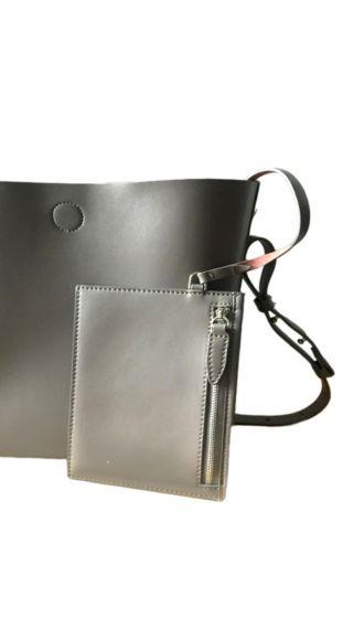 Γυναικεία Δερμάτινη Τσάντα με Χερούλι LIMITED EDITION