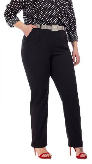 Υφασμάτινο Μονόχρωμο Παντελόνι με Τσέπες
